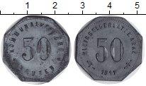 Изображение Монеты Веймарская республика 50 пфеннигов 1917 Цинк XF
