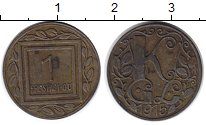 Изображение Монеты Австрия 1 геллер 1916 Цинк VF