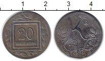 Изображение Монеты Австрия 20 геллеров 1915 Железо XF