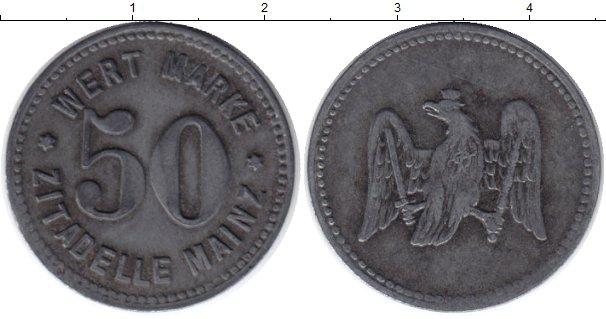 Картинка Монеты Германия 50 пфеннигов Цинк 1915