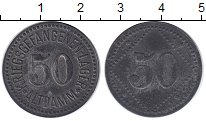 Изображение Монеты Германия 50 пфеннигов 1915 Цинк XF