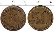 Изображение Монеты Германия 50 пфеннигов 1915 Латунь XF