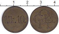 Изображение Монеты Германия 10 марок 1915 Латунь XF