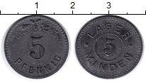 Изображение Монеты Германия 5 пфеннигов 1915 Цинк XF