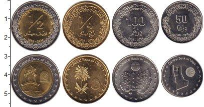 Изображение Наборы монет Ливия Ливия 2014 2014 Медно-никель UNC- В наборе 4 монеты  н