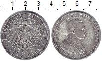 Изображение Монеты Германия Пруссия 5 марок 1913 Серебро XF