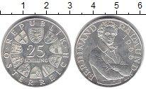 Изображение Монеты Австрия 25 шиллингов 1966 Серебро XF 130 - летие со дня с