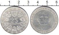 Изображение Монеты Австрия 25 шиллингов 1972 Серебро XF 50 лет со дня смерти