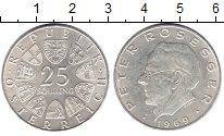 Изображение Монеты Австрия 25 шиллингов 1969 Серебро XF