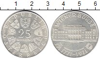 Изображение Монеты Австрия 25 шиллингов 1971 Серебро XF