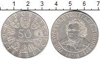 Изображение Монеты Австрия 50 шиллингов 1978 Серебро XF 150 - лет со дня сме