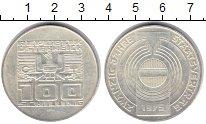 Изображение Монеты Австрия 100 шиллингов 1975 Серебро XF 20 - летие Государст