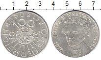 Изображение Монеты Австрия 100 шиллингов 1976 Серебро XF 175 лет со дня рожде