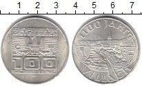 Изображение Монеты Австрия 100 шиллингов 1978 Серебро XF 1100 лет со дня осно