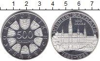 Изображение Монеты Австрия 500 шиллингов 1983 Серебро UNC-