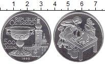 Изображение Монеты Австрия 500 шиллингов 1998 Серебро UNC-