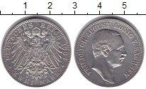 Изображение Монеты Саксония 2 марки 1907 Серебро XF Фридрих Август