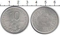 Изображение Монеты ГДР 10 марок 1973 Медно-никель XF