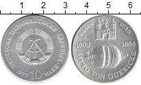 Монета ГДР 10 марок Серебро 1977 XF