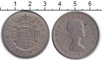 Изображение Монеты Великобритания 1/2 кроны 1961 Медно-никель XF