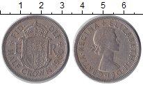 Изображение Монеты Великобритания 1/2 кроны 1960 Медно-никель XF