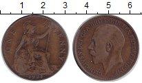 Изображение Монеты Великобритания 1 пенни 1921 Медь VF