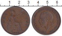 Изображение Монеты Великобритания 1 пенни 1930 Медь XF