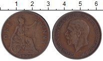 Изображение Монеты Великобритания 1 пенни 1935 Медь XF
