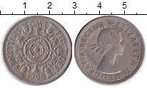 Изображение Монеты Великобритания 2 шиллинга 1966 Медно-никель XF