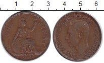 Изображение Монеты Великобритания 1 пенни 1948 Медь XF