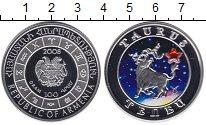 Изображение Монеты Армения 100 драм 2008 Серебро Proof Цветная эмаль.  Теле