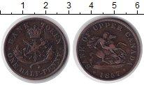 Изображение Монеты Канада 1/2 пенни 1857 Медь VF