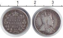 Изображение Монеты Канада 5 центов 1910 Серебро XF