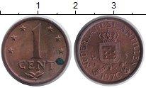 Изображение Монеты Антильские острова 1 цент 1976 Медь XF