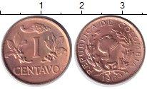 Изображение Монеты Колумбия 1 сентаво 1969 Медь XF