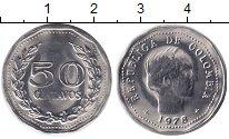 Изображение Монеты Колумбия 50 сентаво 1978 Медно-никель XF