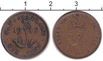 Изображение Монеты Ньюфаундленд 1 цент 1942 Медь XF