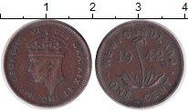 Изображение Монеты Ньюфаундленд 1 цент 1942 Медь VF