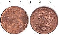 Изображение Монеты Мексика 20 сентаво 1965 Медь XF
