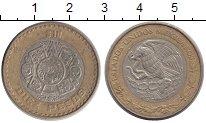 Изображение Монеты Мексика 10 песо 1998 Биметалл XF