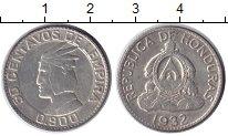 Изображение Монеты Гондурас 50 сентаво 1932 Серебро XF
