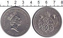 Изображение Монеты Великобритания 5 фунтов 1990 Медно-никель UNC- Елизаветы II.  90 ле