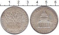 Изображение Мелочь Франция 100 франков 1983 Серебро XF