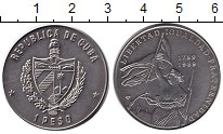 Изображение Монеты Куба 1 песо 1989 Медно-никель XF