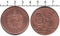 Изображение Монеты Куба 1 песо 1989 Медь XF