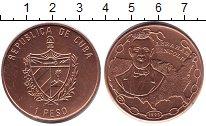Изображение Монеты Куба 1 песо 1993 Медь XF