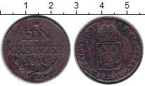 Изображение Монеты Австрия 1 крейцер 1816 Медь