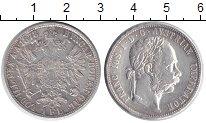 Изображение Монеты Австрия 1 флорин 1878 Серебро XF