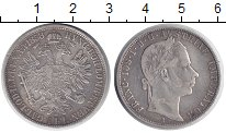 Изображение Монеты Австрия 1 флорин 1858 Серебро XF