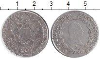 Изображение Монеты Австрия 20 крейцеров 1809 Серебро